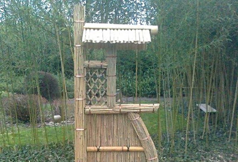 Panneau bambou traditionnel jardin japonais barrière sode gaki