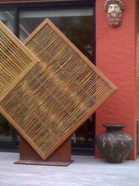 panneau,bambou,pergola,jardin,palissade,cloture,barrière,japonais,madassi
