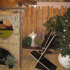 Salon des Métiers d'art - Nantes décors panneau bambou