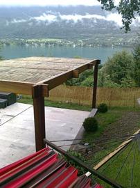 pergola,bambou,bois,jardin,ombre,fraicheur,bioclimatique,gazebo,tonnelle