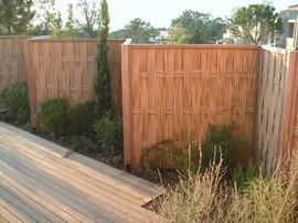 panneau,bambou,jardin,palissade,cloture,barrière,japonais,amida