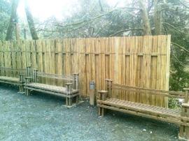 panneau,bambou,jardin,palissade,cloture,barrière,japonais,teppo