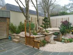 sode,gaki,bambou,barrière,clôture,palissade,panneau,jardin,japonais,zen,traditionnel,typique